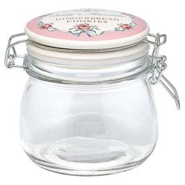GreenGate Einmachglas, Betty pale pink, 500ml