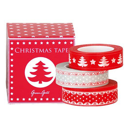 GreenGate Klebeband-Box, Tree red