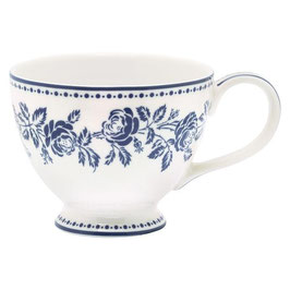 GreenGate XL Tasse, fleur blue