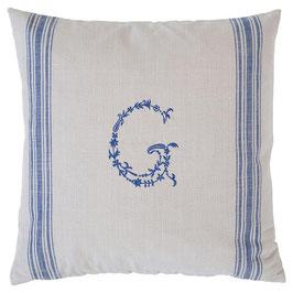 GreenGate Kissen, G blue, 50x50