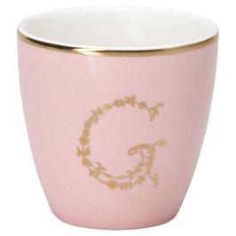 GreenGate Espressotasse, G pale pink