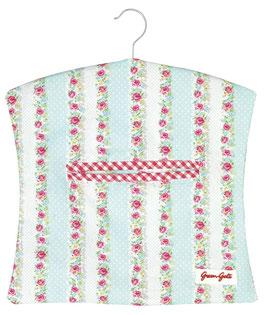 GreenGate Wäscheklammer-Sack, Wendy white blue