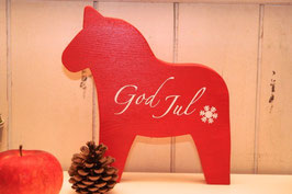 Rosamine Schwedenpferd red god jul