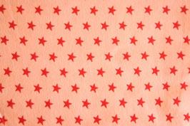 Jersey Sterne rosa