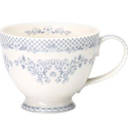 GreenGate Tasse, Stephanie dusty blue XL