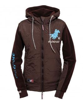 OLD SORREL Trainer Jacket donna marrone
