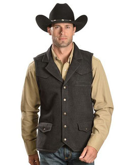 OUTBACK TRADING WOOL VEST