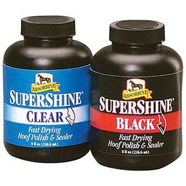 SuperShine® Hoof Polish and Sealer Black or Clear