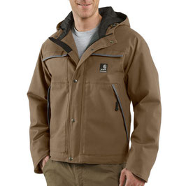 CARHARTT J287 DURA-DRY HOODED TRADITIONAL JACKET