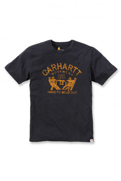 CARHARTT Maddock Hard To Wear Out T-Shirt nera