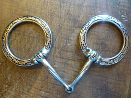 JWP SNAFFLE BIT Fancy Ring
