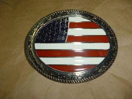 FIBBIA WESTERN USA FLAG