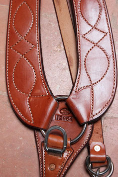 PETTORALE WESTERN-Pulling Collar Billy Cook 12-964