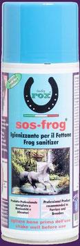SOS FROG Igenizzante e disinfettante per il fettone 400 ml