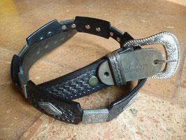 Cintura Cattelman's cuoio e fibbie
