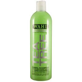 WAHL Tea Tree shampoo (SHAMPOO LENITIVO AL TEA TREE), prodotto concentrato la diluire