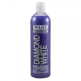 WAHL Diamond White Shampoo (per manti GRIGI E BIANCHI) Shampoo 500 ml, prodotto concentrato la diluire