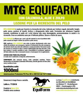 MTG Equifarm lozione per la ricrescita del crine 1 litro