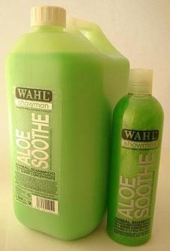 WAHL Aloe Soothe shampoo (SHAMPOO LENITIVO ALL'ALOE), prodotto concentrato la diluire