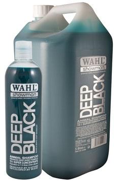 Wahl Deep Black Shampoo Shampoo per manti neri 500 ml, prodotto concentrato la diluire