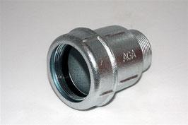 Обжимная муфта AGA  с наружной резьбой тип АК