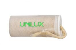 Лен сантехнический UNILUX шпуля 80 г. в контейнере.