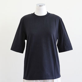 NORSE PROJECTS SPRING SUMMER 2021 GINNY HEAVY JERSEY BLACK