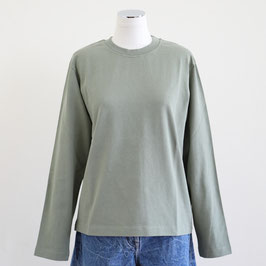 NORSE PROJECTS DORTHEA HEAVY JERSEY LINDEN GREEN