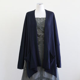 QUEENE AND BELLE SPRING SUMMER 2019 MISHA CARDIGAN NAVY ONE size