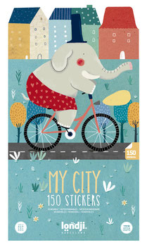 "Sticker-Poster ""My City"""