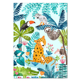 Dschungel-Poster