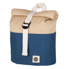Rolltop Kinder-Rucksack - blau
