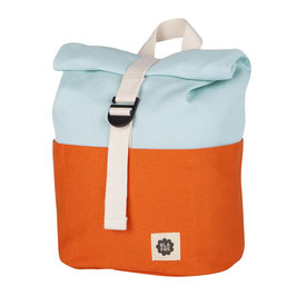 Rolltop Kinder-Rucksack - orange