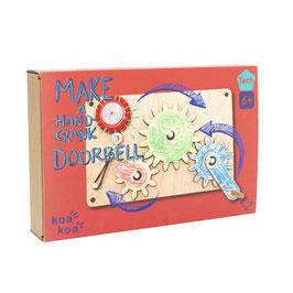 Make A Hand Crank Doorbell