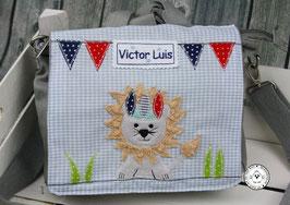 """❤️  Kindergartentasche/-rucksack """"Löwe als Indianer"""""""