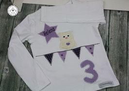 ❤️  Geburtstagsshirt Eule - Modell 1 T-Shirt