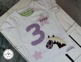❤️  Geburtstagsshirt Pferd - lila/flieder - Modell 2 T-Shirt