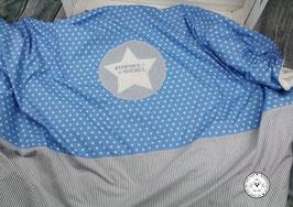 ❤️  Decke Streifen und Sterne - Modell 10