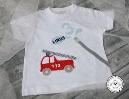 ❤️ Geburtstagsshirt Feuerwehr - Modell 1 T-Shirt