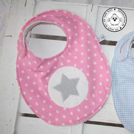 ❤️ Lätzchen Stern ohne Name - Modell 5