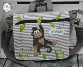 """❤️  Kindergartentasche/-rucksack """"Affe"""""""