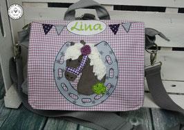 """Kindergartentasche/-rucksack """"Pferdeglück"""""""