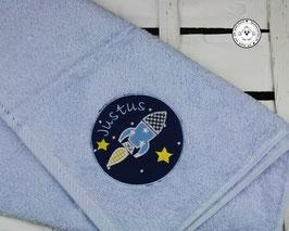 ❤️  Handtuch Rakete