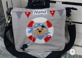 """❤️ Kindergartentasche/-rucksack """"Seebär"""""""