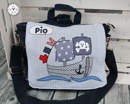 """❤️ Kindergartentasche/-rucksack """"Piratenschiff"""""""
