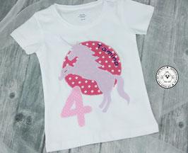 ❤️  Geburtstagsshirt Einhorn - Modell 1 T-Shirt