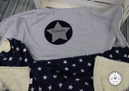 ❤️  Decke Sterne  und Streifen - Modell 13