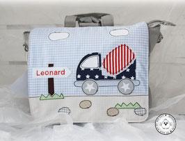"""❤️ Kindergartentasche/-rucksack """"Baustelle"""" Modell 2"""