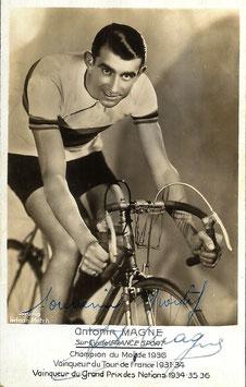 MAGNE ANTONIN, Genuine Hand Signed Autograph Photo 9x14cm, WORLD CHAMPION, TOUR DE FRANCE WINNER
