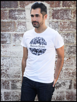 """Tee Shirt Homme """"La couronne de fleurs"""""""